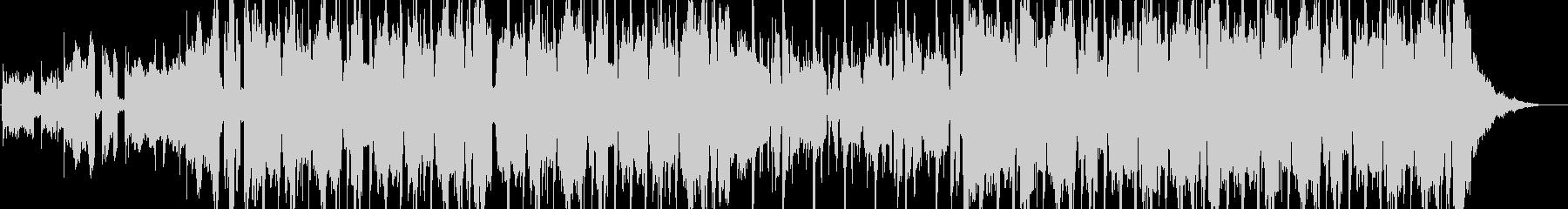 メロウなヒップホップBGMの未再生の波形