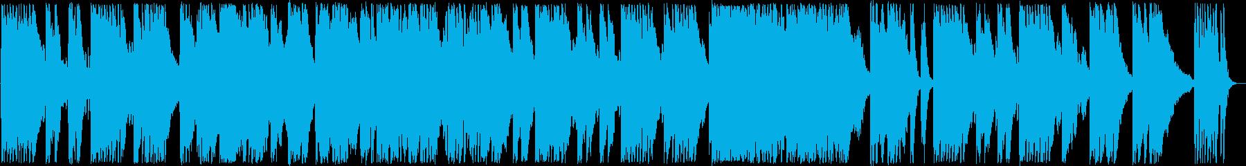 優しいピアノ・バイオリンサウンドの再生済みの波形