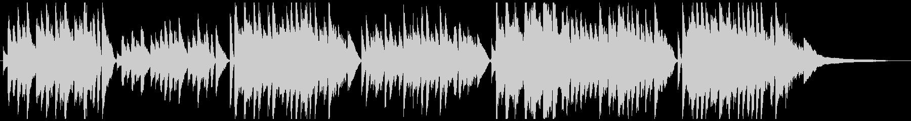 ビバルディ四季「春」シンプルなピアノソロの未再生の波形