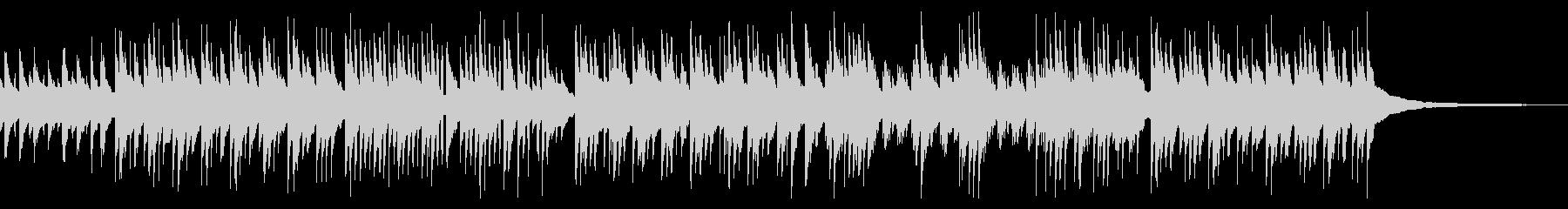 ほのぼの・軽快な3拍子ギターデュオの未再生の波形