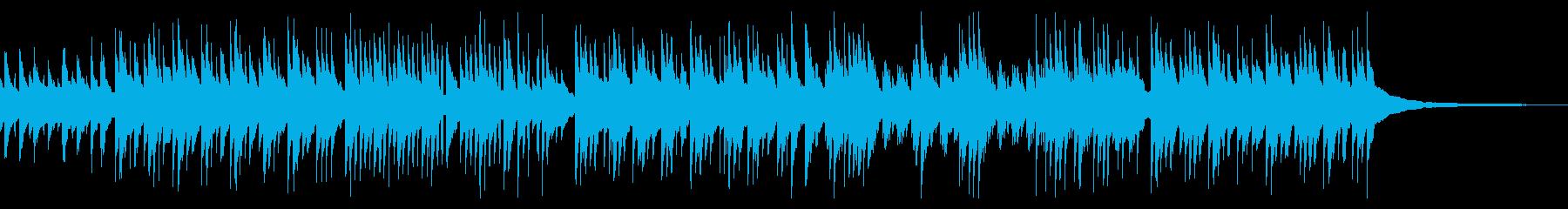 ほのぼの・軽快な3拍子ギターデュオの再生済みの波形