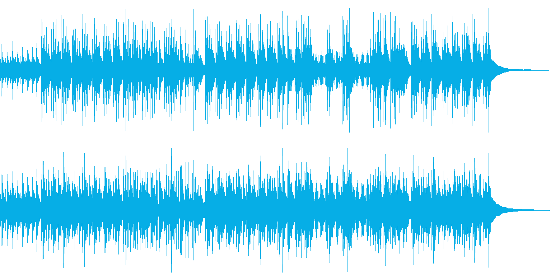 ギターデュオ/帰り道・ほのぼの・軽快の再生済みの波形