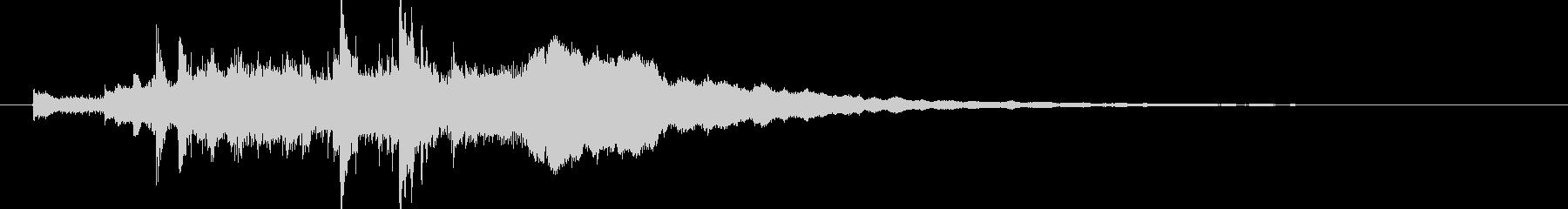 キラキラ・企業・きらめき・サウンドロゴの未再生の波形