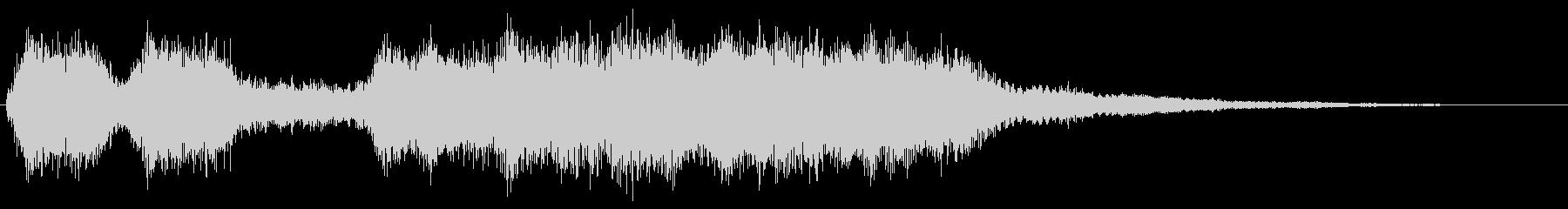 ダークに響くファンファーレ 重厚 魔族の未再生の波形