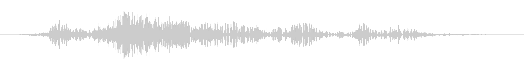 乱流ホイップラッシュウーシュ3の未再生の波形