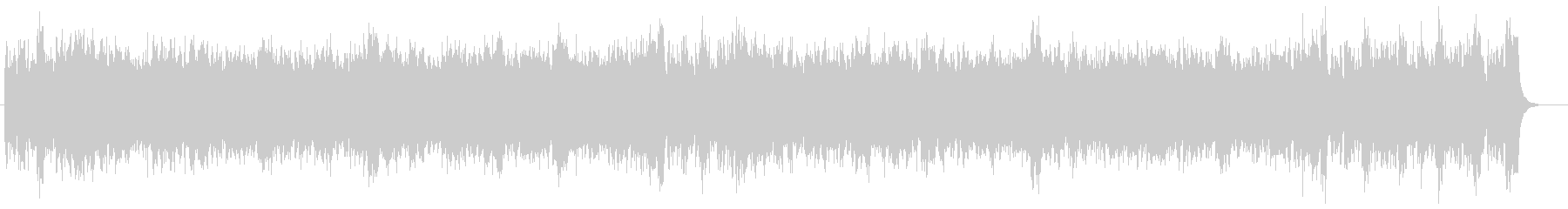 大砲入りクラシック(1812年序曲風)の未再生の波形