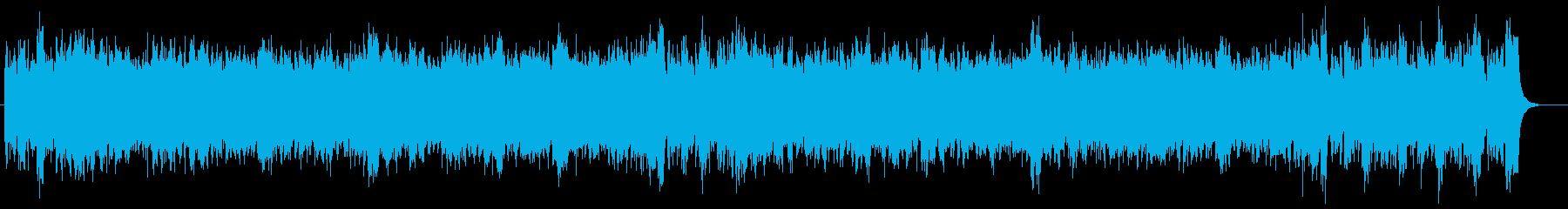 大砲入りクラシック(1812年序曲風)の再生済みの波形