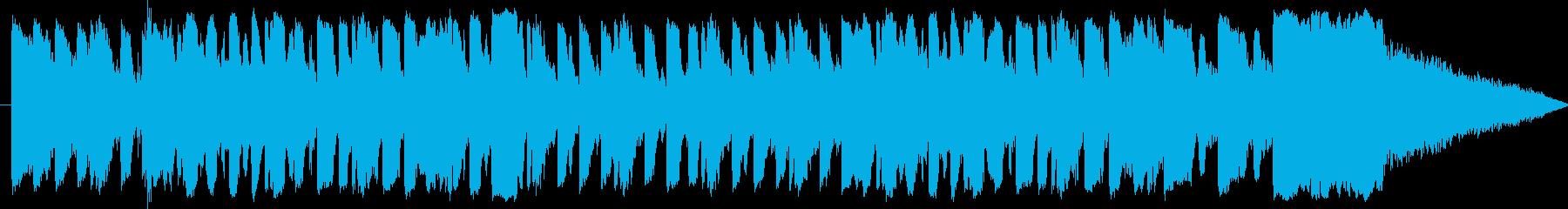 本物の響きのある中世の楽器は、チュ...の再生済みの波形