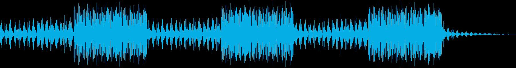 ハロウィンを彩るアクティブなビートの再生済みの波形