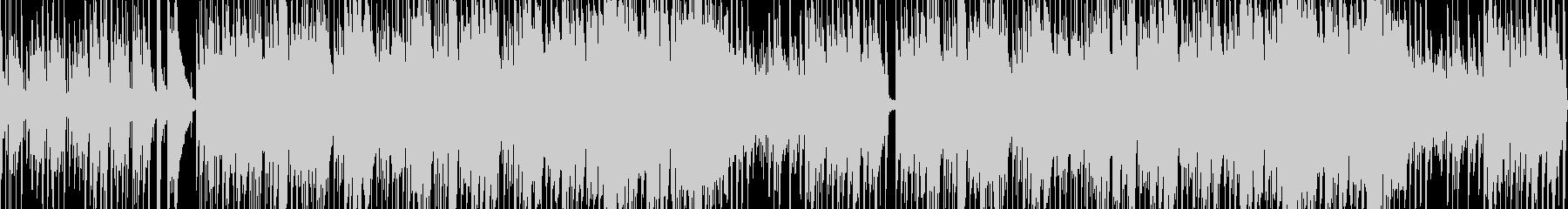 カフェで流れるジャズの未再生の波形