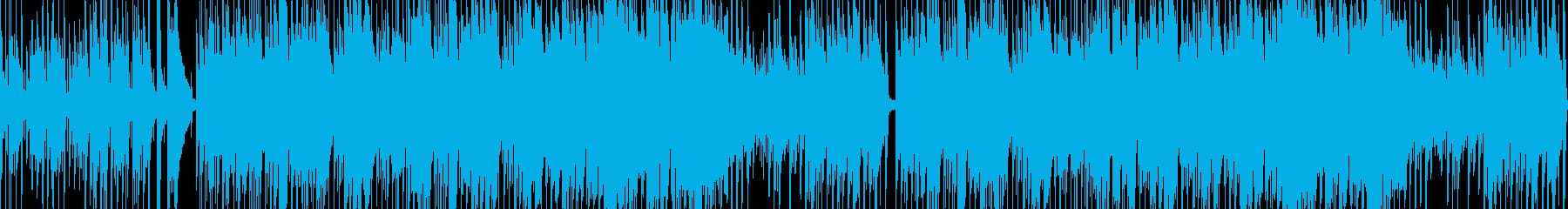 カフェで流れるジャズの再生済みの波形