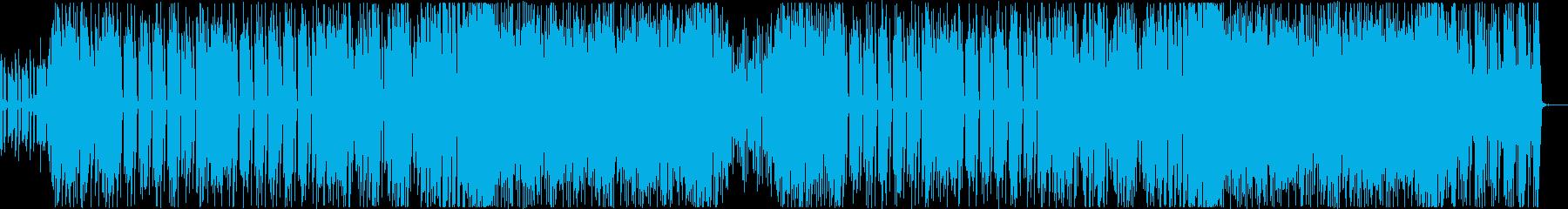 レトロでかわいいテクノポップ!メロディ無の再生済みの波形