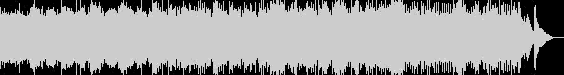 アップテンポのわくわくしたBGMの未再生の波形