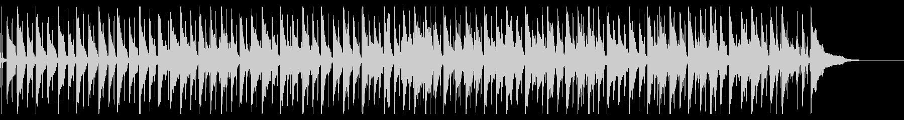 生コントラバスのゆったりとしたBGMの未再生の波形