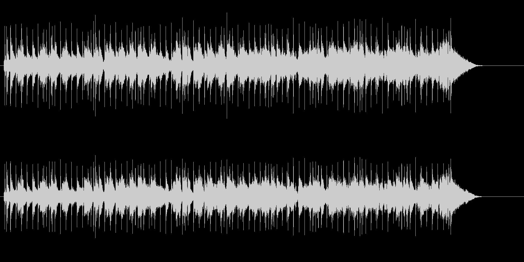 穏やかに広がるニュー・ミュージックの未再生の波形