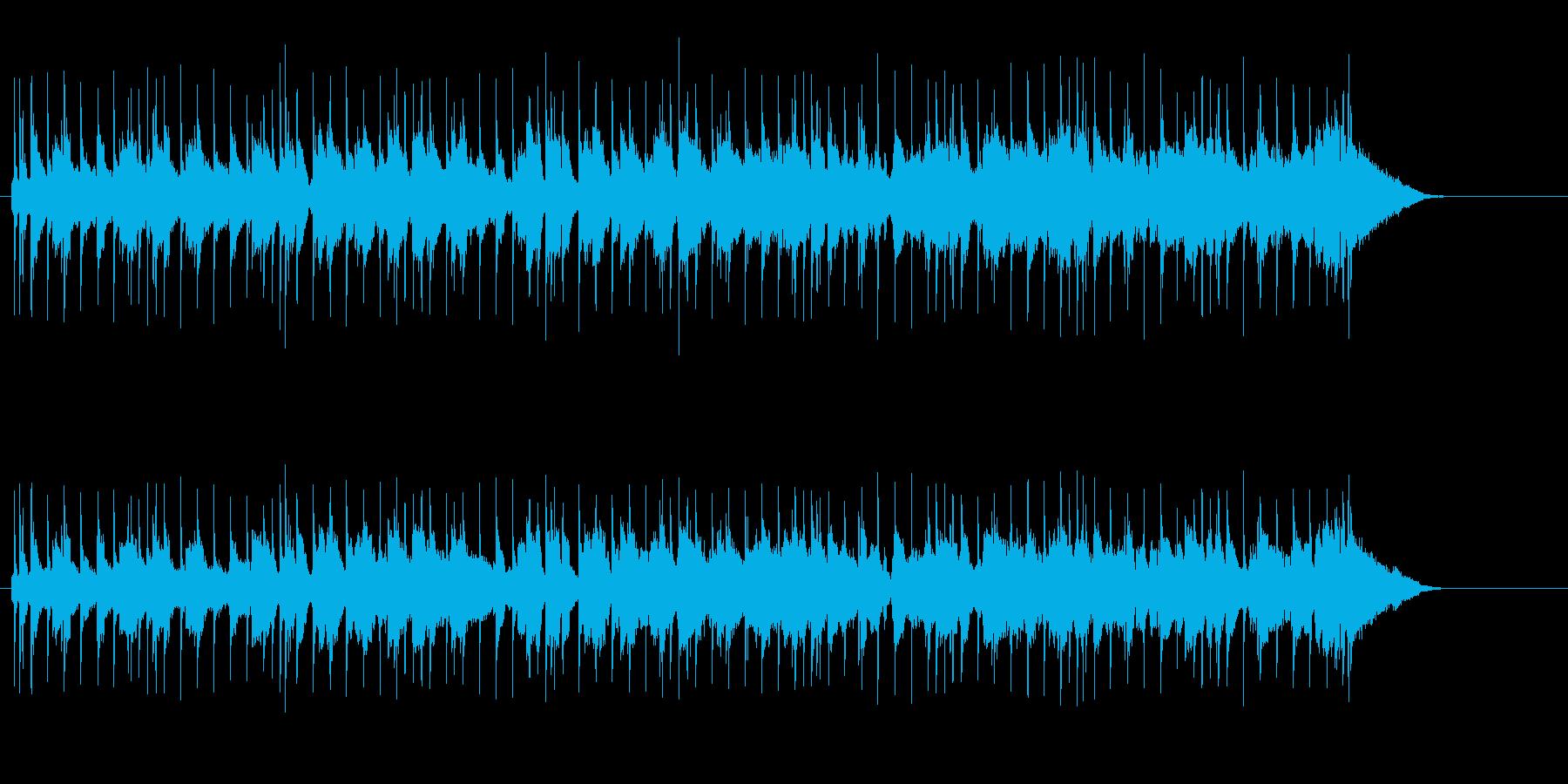 穏やかに広がるニュー・ミュージックの再生済みの波形