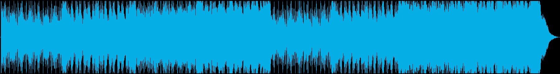 感動ピアノとストリングスのバラードワルツの再生済みの波形