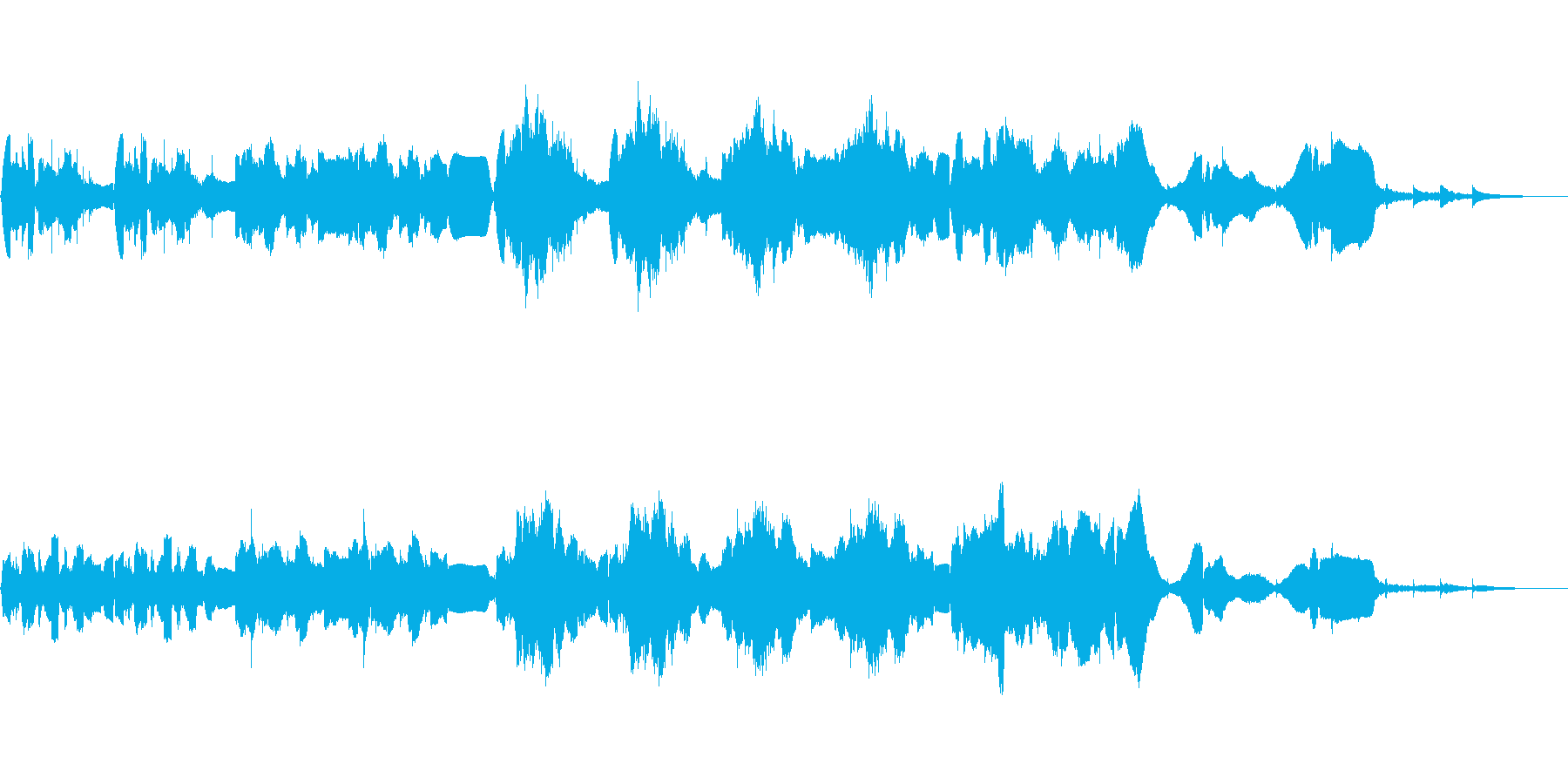 RPG:ダンジョン用BGM3の再生済みの波形