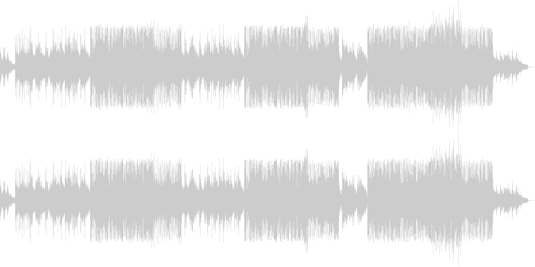 I want to push your back with 90's style rock!'s unreproduced waveform