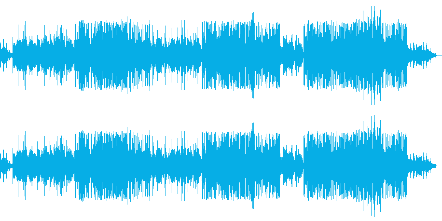 I want to push your back with 90's style rock!'s reproduced waveform