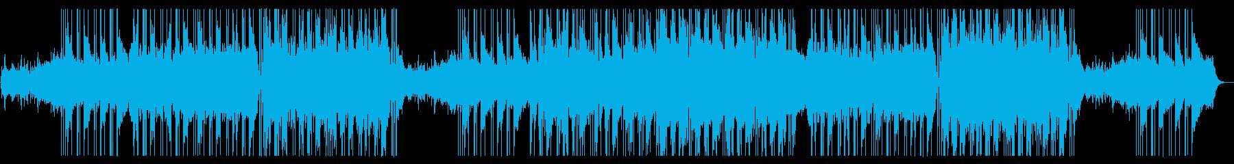 セクシーなR&Bラブバラードの再生済みの波形