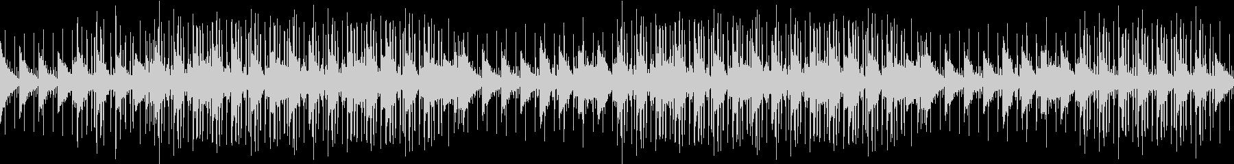 お洒落・ヒップホップ・アンビエントピアノの未再生の波形