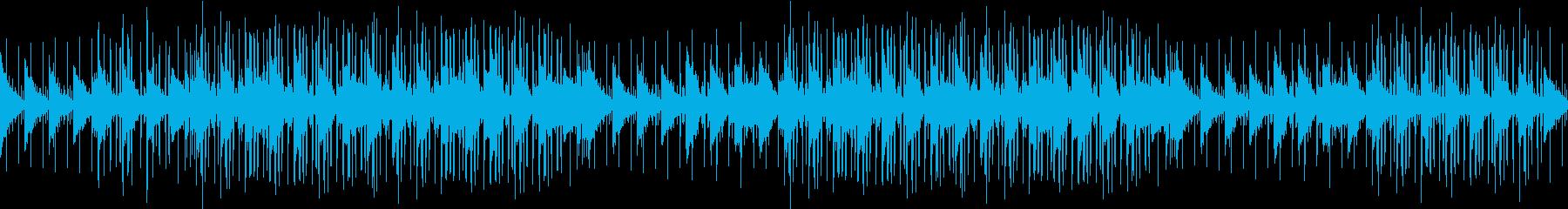 お洒落・ヒップホップ・アンビエントピアノの再生済みの波形