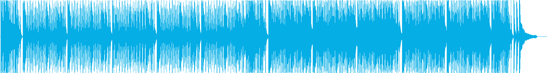 A funny pop BGM that jumps brightly ♪'s reproduced waveform