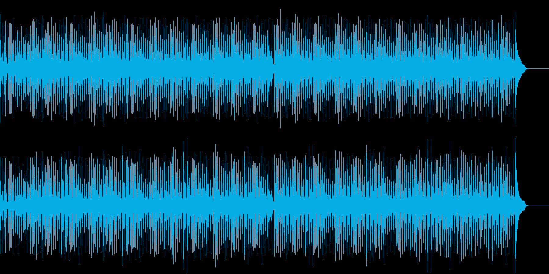 ピアノで飛び跳ねたくなるようなポップスの再生済みの波形