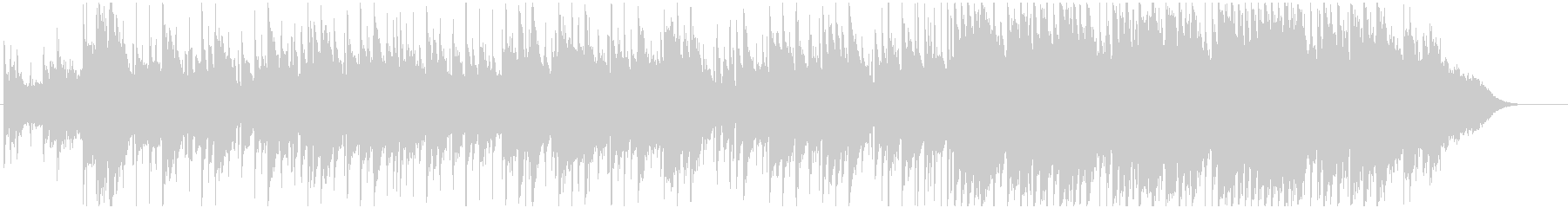BGM of a beautiful melody that spreads's unreproduced waveform