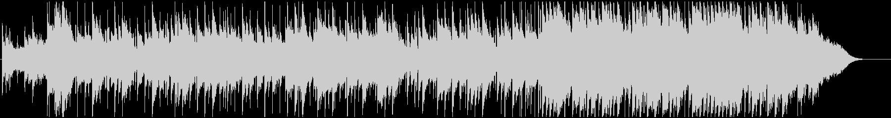 広がりのある美しいメロディーのBGMの未再生の波形