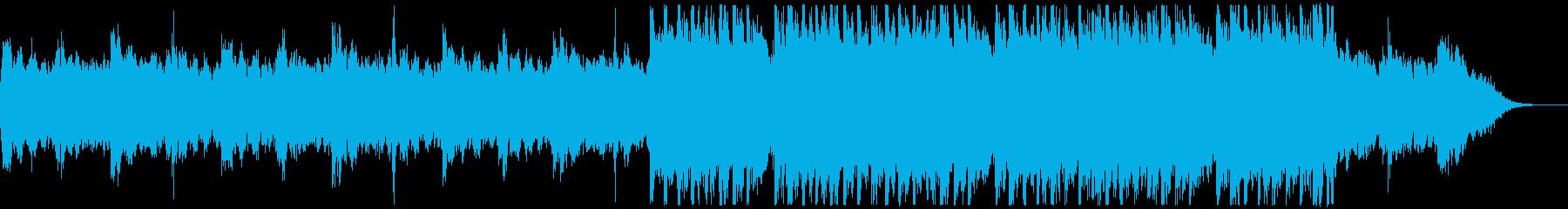 背景音 サスペンス 4の再生済みの波形