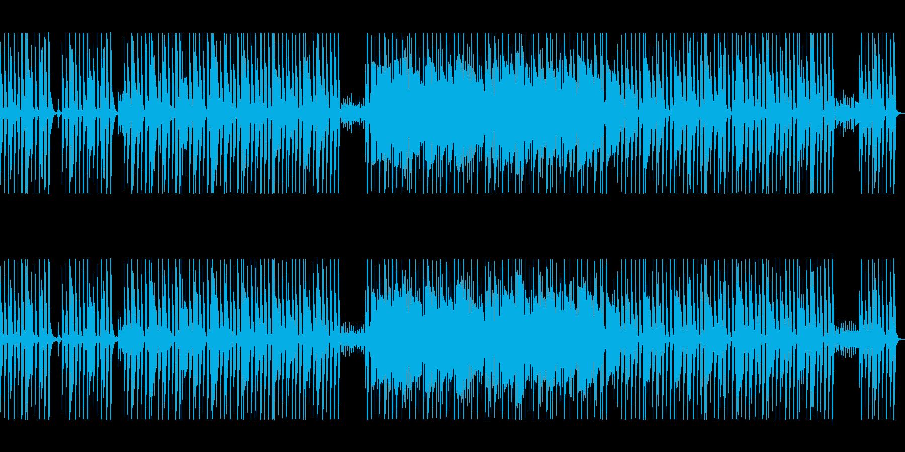かわいらしく軽快なポップミュージックの再生済みの波形