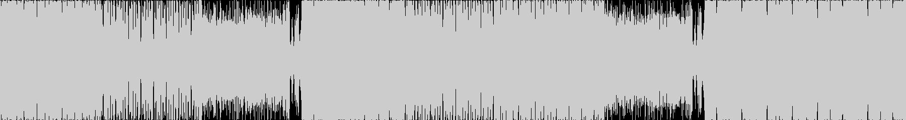【ループ】映像やCMに/ダークエレクトロの未再生の波形