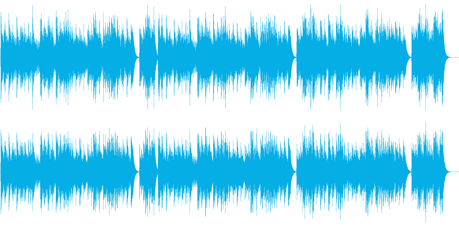 雛祭の再生済みの波形