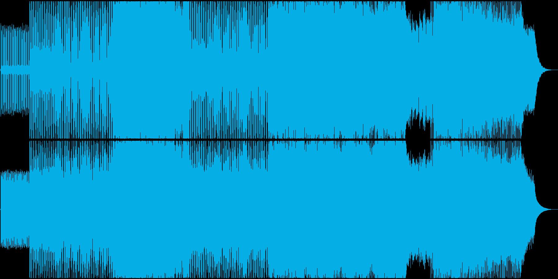 生演奏。耳に残るメロディ切ない系ロック。の再生済みの波形