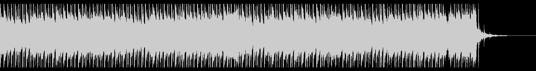 建物の成功(40秒)の未再生の波形