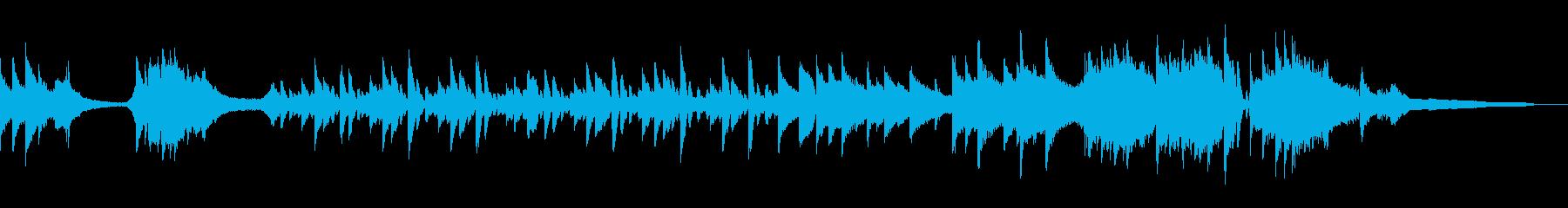 スタイリッシュに駆け抜けるピアノソロの再生済みの波形