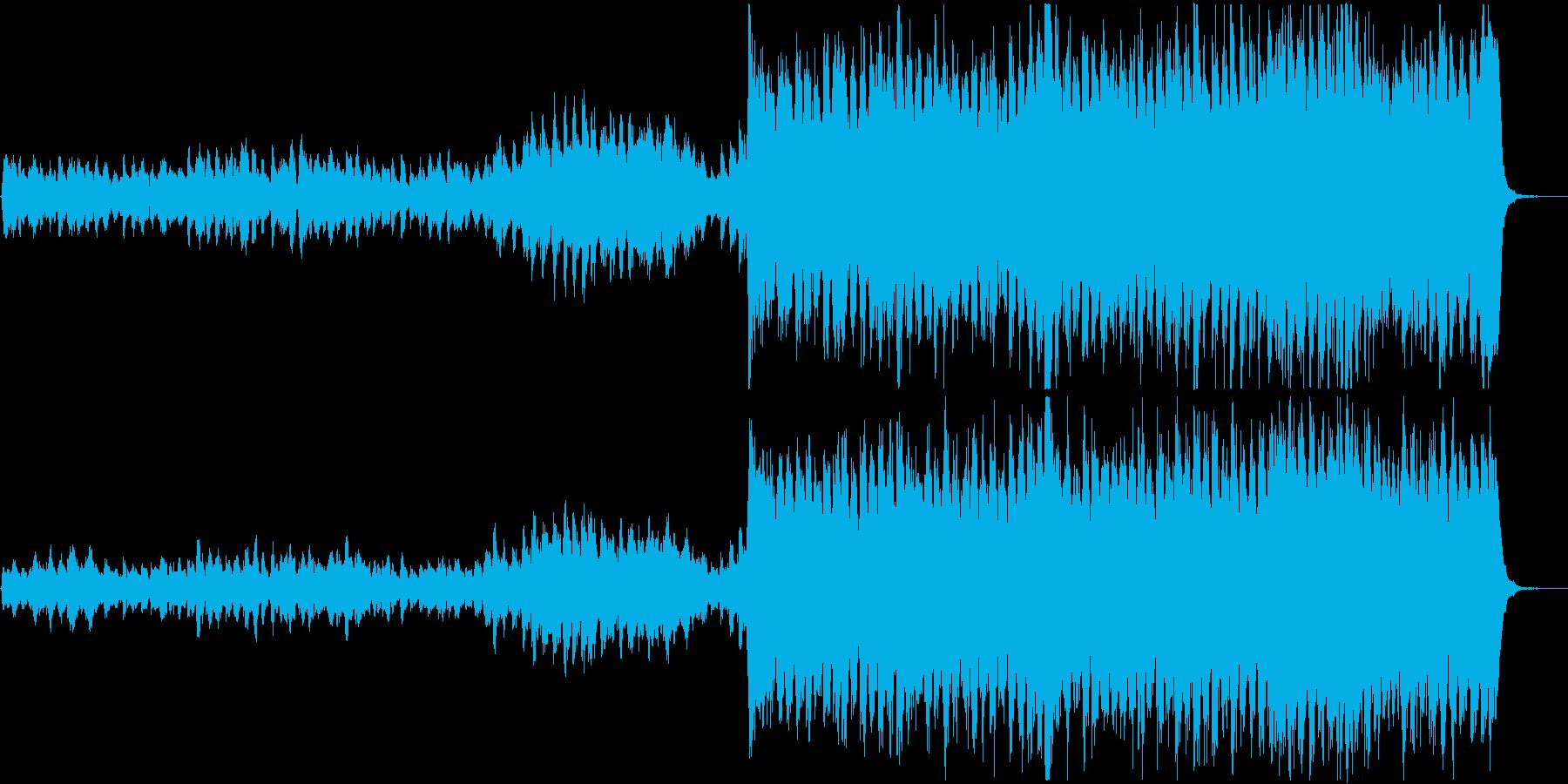 エルガー 行進曲 威風堂々 第1番よりの再生済みの波形