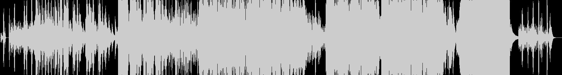 賛美歌グリーンスリーブスの壮大なカバー曲の未再生の波形