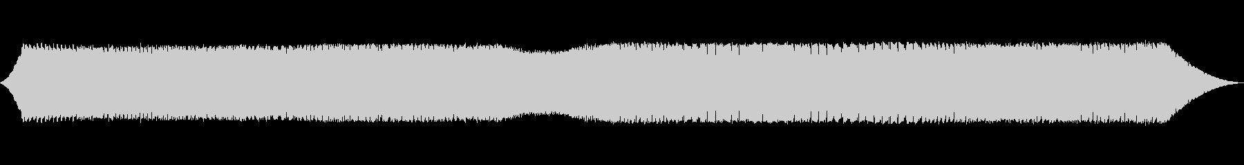 変化する銃声音の未再生の波形