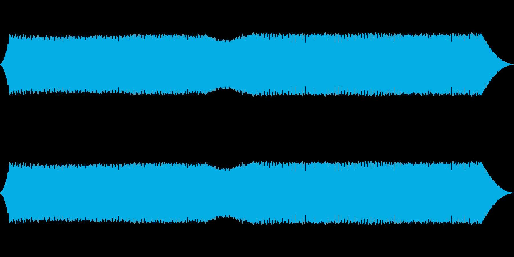 変化する銃声音の再生済みの波形
