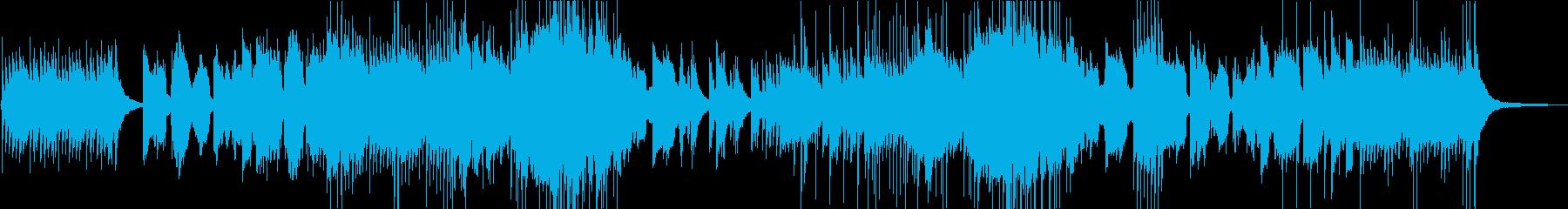 澄みわたる生篠笛が印象的な和風ポップスの再生済みの波形