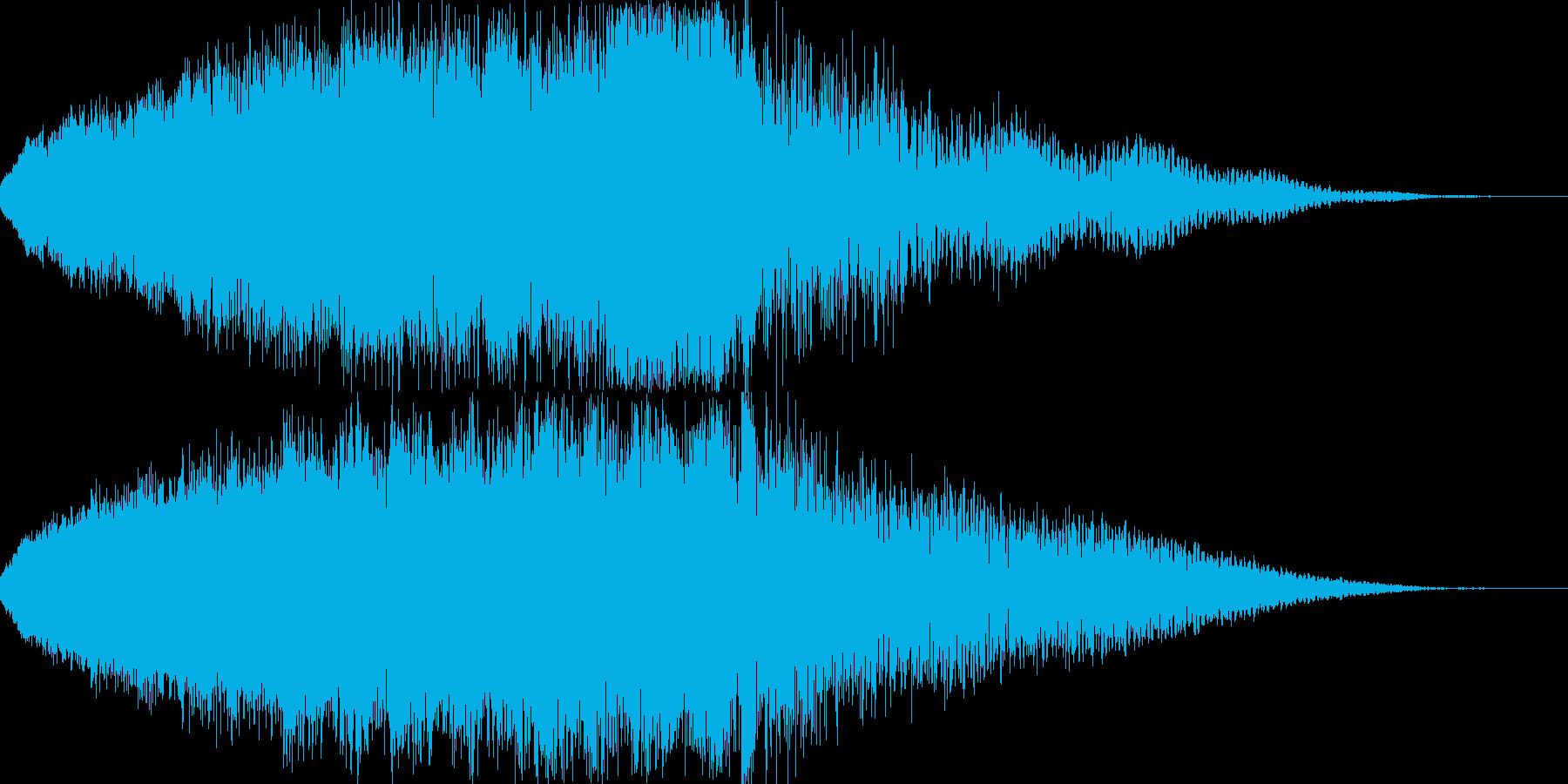 【ホラー】 スリルの再生済みの波形