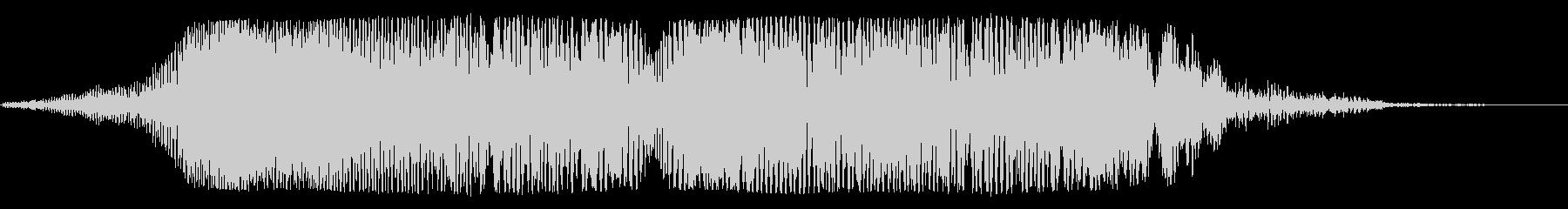 宇宙船通過(下り調子・透明感のある低音)の未再生の波形