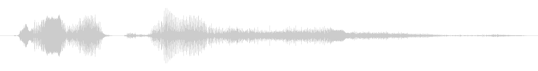 モンスター デススクリームハイ02の未再生の波形