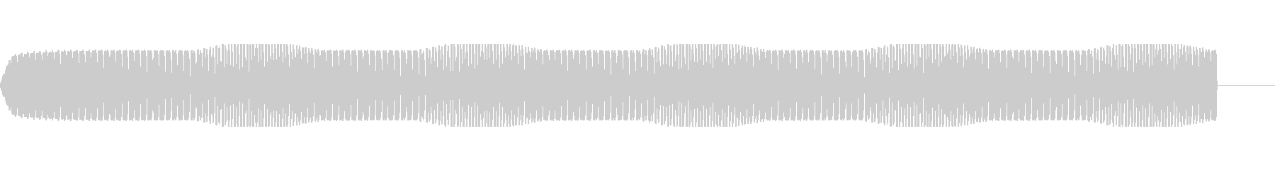 モータ・エンジンの駆動音【ドドドドド】の未再生の波形
