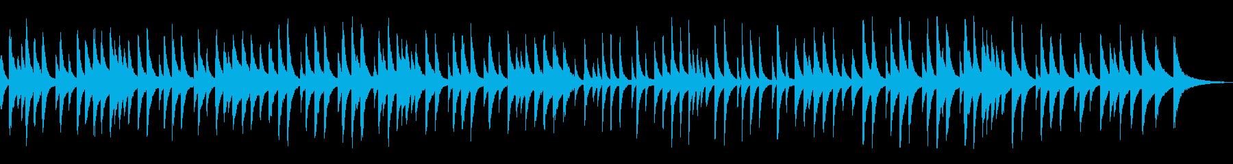 「蛍の光」おしゃれなラウンジピアノソロの再生済みの波形