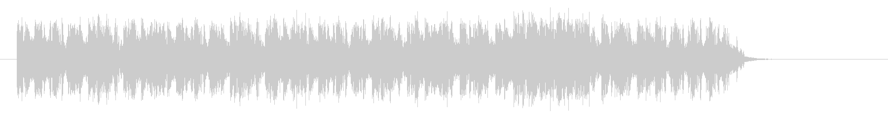 ベースが効いたインパクトのあるロックな曲の未再生の波形