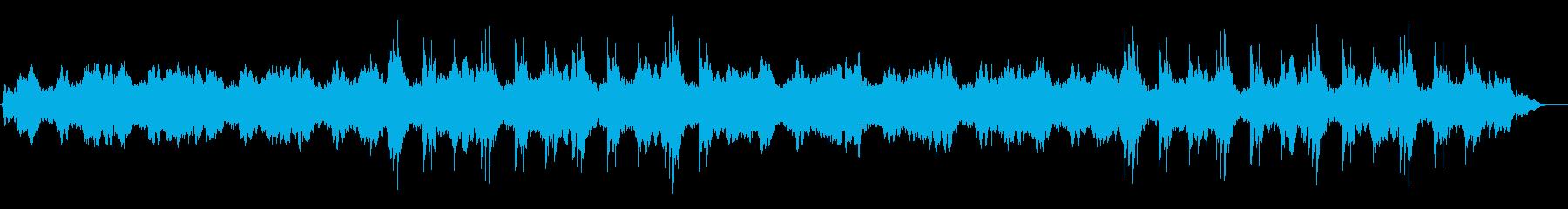 感動スローモーション映像系アンビエントの再生済みの波形